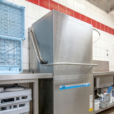 Dishwasher of the bakery Raisch