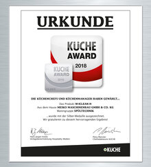 Kitchen Award 2018